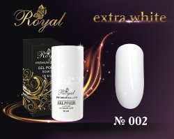Гель-лак ROYAL 10 ml №002 extra white