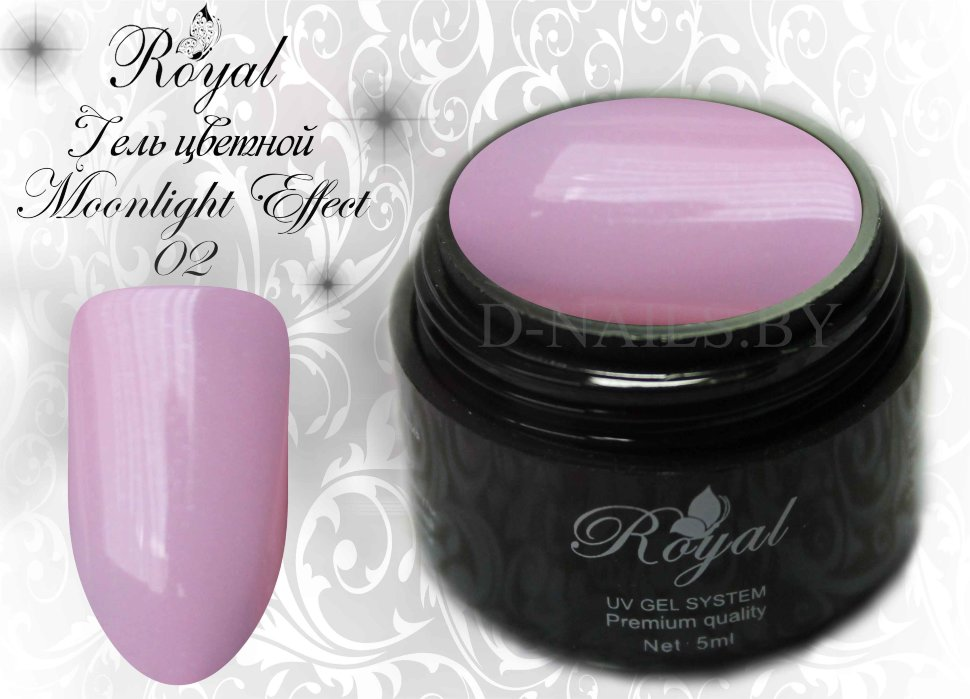 Цветной гель Royal Moonlight Effect 5 ml №02