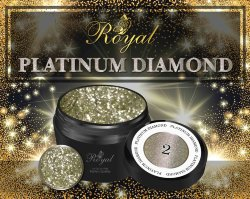 Гель-лак Royal PLATINUM DIAMOND 5 ml №02