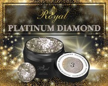 Гель-лак Royal PLATINUM DIAMOND 5 ml №03