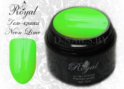 Гель-краска Royal Premium Line Neon Lime 5 ml