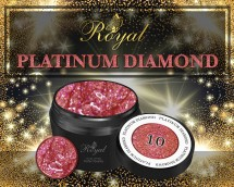 Гель-лак Royal PLATINUM DIAMOND 5 ml №10