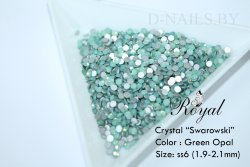 Стразы ss6 Green Opal 1.9-2.1mm 100шт